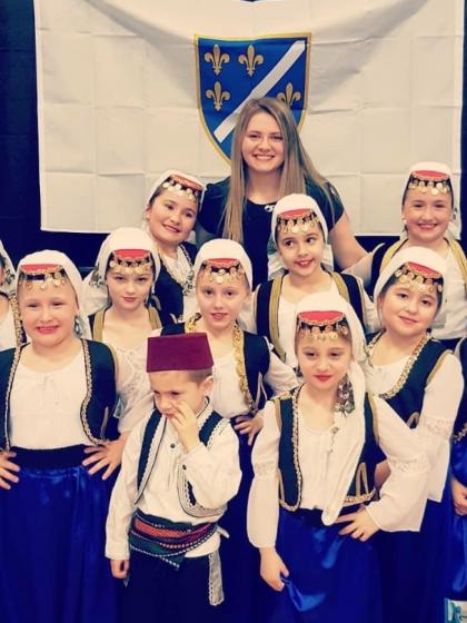 Mlada Bosanka u Bostonu pokrenula sekciju dječijeg folklora