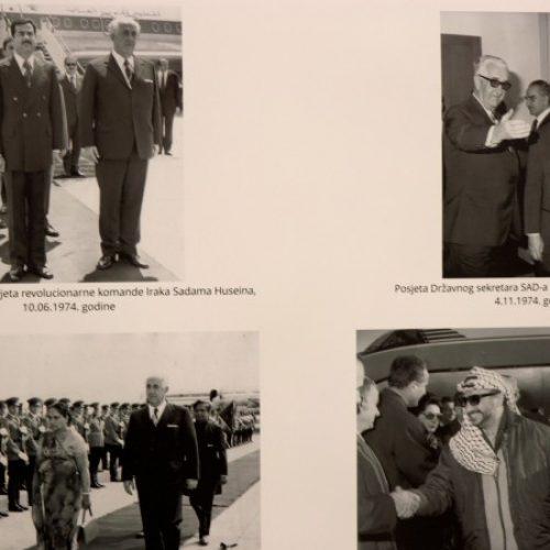 Otvorena izložba 'Džemal Bijedić- diplomatske aktivnosti'