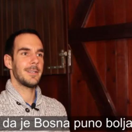 Posjetio je 47 zemalja svijeta: Nigdje se ne živi bolje nego u Bosni (VIDEO)