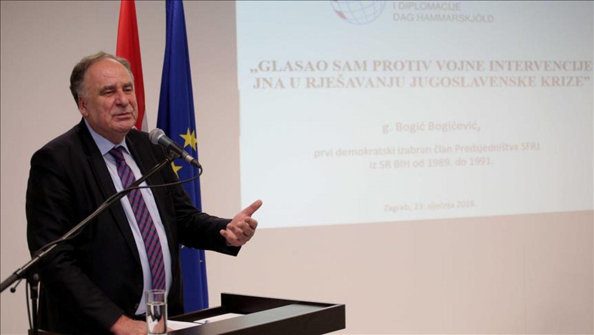 Bogićević: Htjeli su me ubijediti, primorati da se moram ponašati prije svega kao Srbin