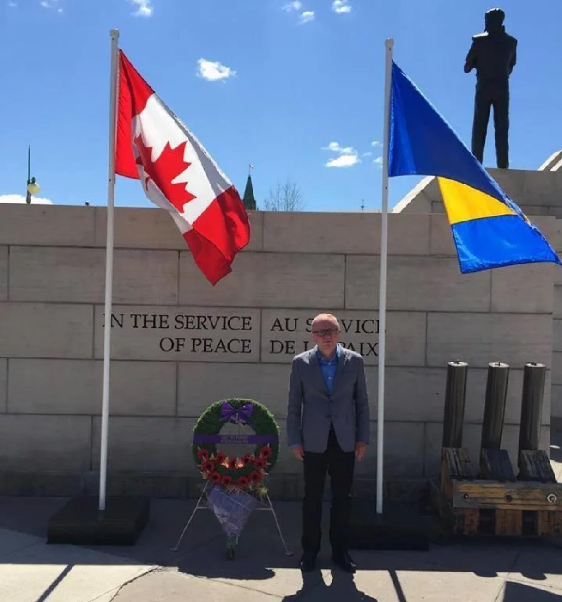Ovaj akademik upoznao je Kanađane sa dešavanjima u Bosni