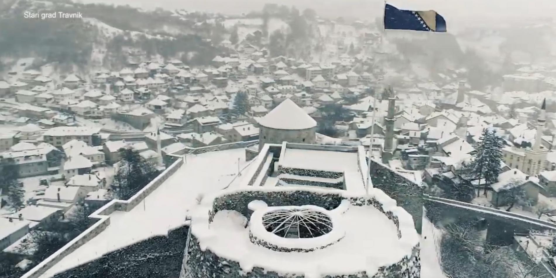 Stari bosanski gradovi: Jajce i Travnik u zimskoj čaroliji – VIDEO
