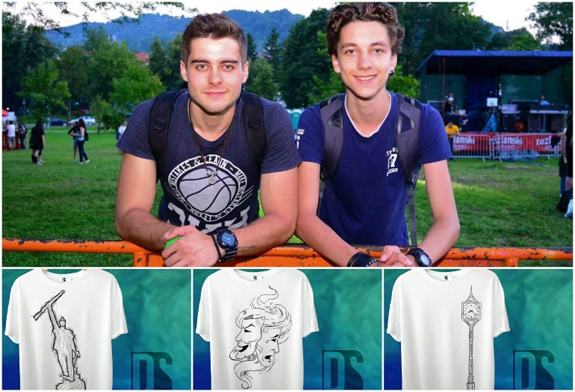 Porodični biznis: Braća Stankić majice sa motivima Tuzle prodaju širom svijeta