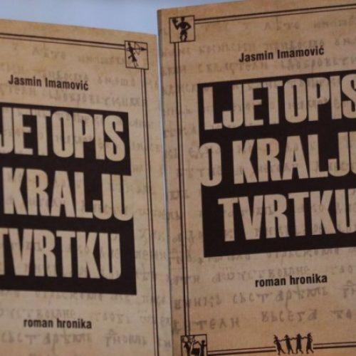 U Sarajevu predstavljena knjiga Jasmina Imamovića 'Ljetopis o kralju Tvrtku'