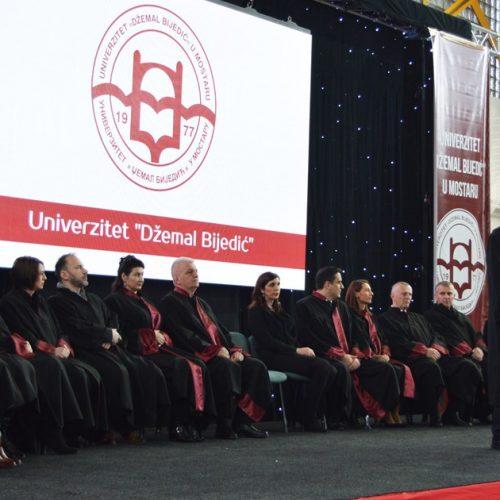 Na Univerzitetu 'Džemal Bijedić' u Mostaru 649 diplomanata u 2018. godini