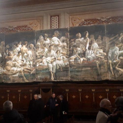"""Sinoć u Rimu svečano otvorena monumentalna izložba Safeta Zeca naslovljena """"EXODUS"""""""