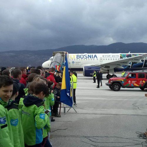 Olimpijska baklja mira stigla u Sarajevo