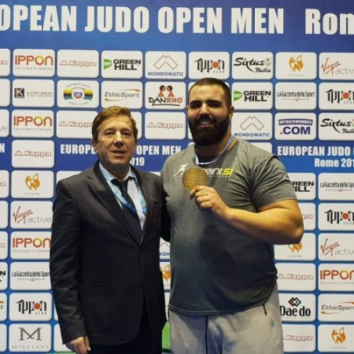 Džudo: Harun Sadiković osvojio bronzanu medalju na Europa Open u Rimu