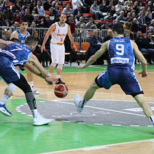 Zenica: Košarkaši Bosne i Hercegovine pobijedili Bugarsku