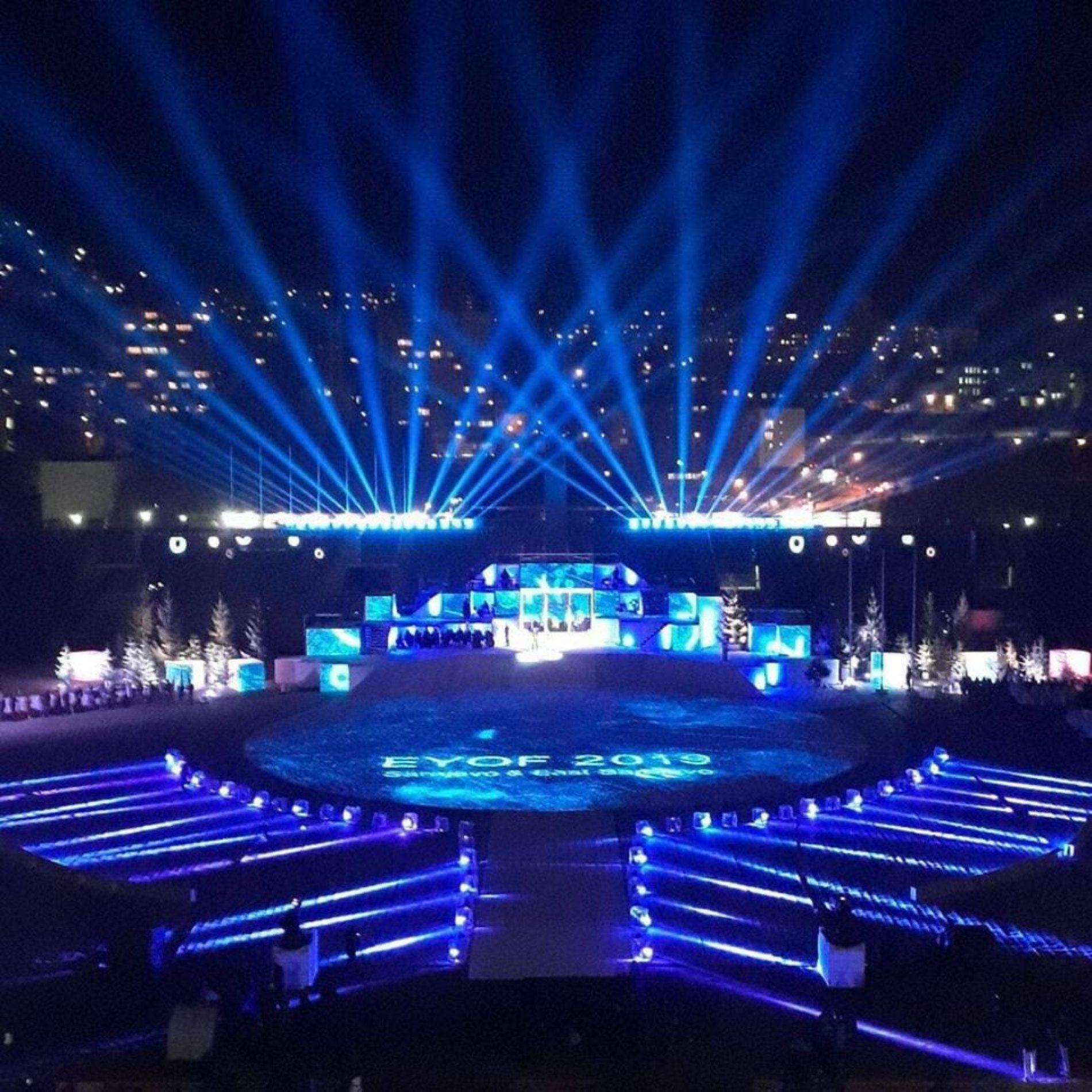 Večeras počinje EYOF, najveći sportski događaj u Bosni i Hercegiovini nakon Olimpijade 1984.