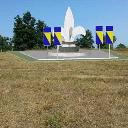Bosanska Krupa: Aktuelizirana izgradnja spomen-obilježja 'Ljiljan' na Ćojluku