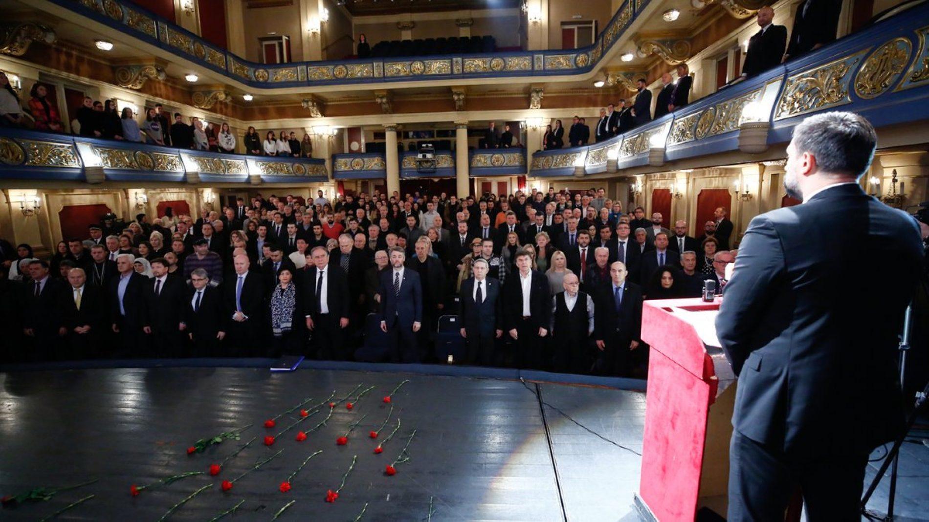 Održana komemorativna sjednica povodom Dana sjećanja na sve poginule građane Sarajeva