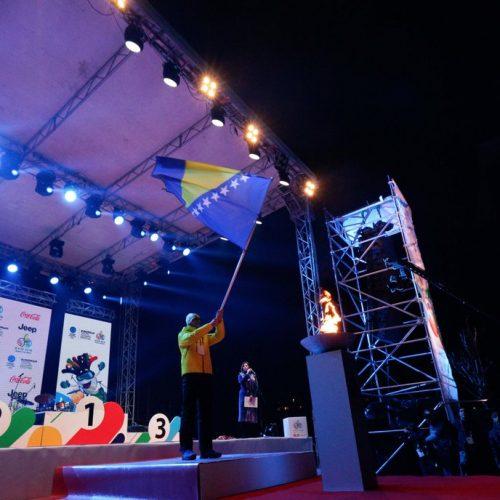 Završen Evropski omladinski festival – EYOF 2019., iz BiH poslana poruka mira