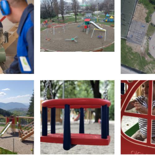 Firma iz Zenice proizvodi dječija igrališta, fitnes sprave za vanjsku upotrebu, trim staze..