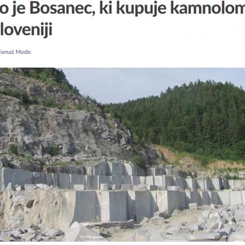 Ko je Bosanac koji kupuje kamenolome u Sloveniji pitaju se tamošnji mediji