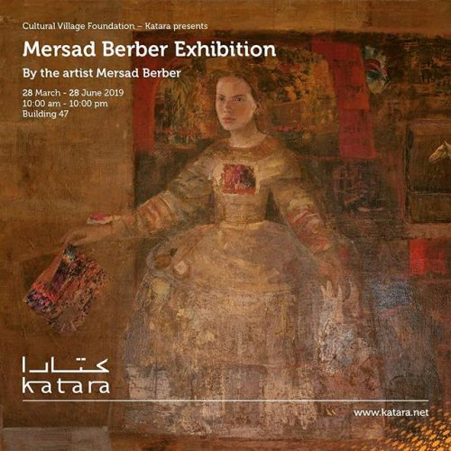 Retrospektivna izložba Mersada Berbera 28. marta u Dohi
