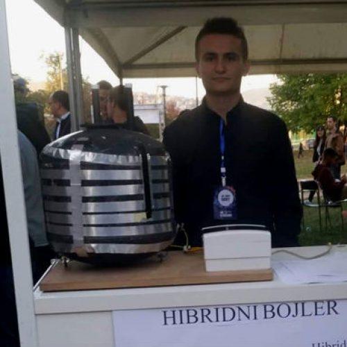 Hibridni bojler izum sarajevskog srednjoškolca: Brže zagrijava i štedi energiju