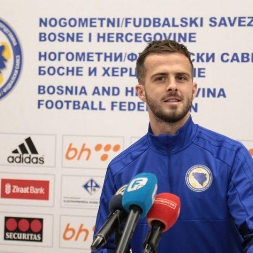 Pjanić: Mi ćemo nastojati da startujemo sa šest bodova; pokušaćemo i Italiji uzeti bodove