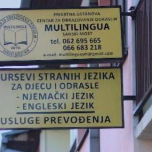 Zabranjen rad Centru za obrazovanje iz Sanskoga Mosta