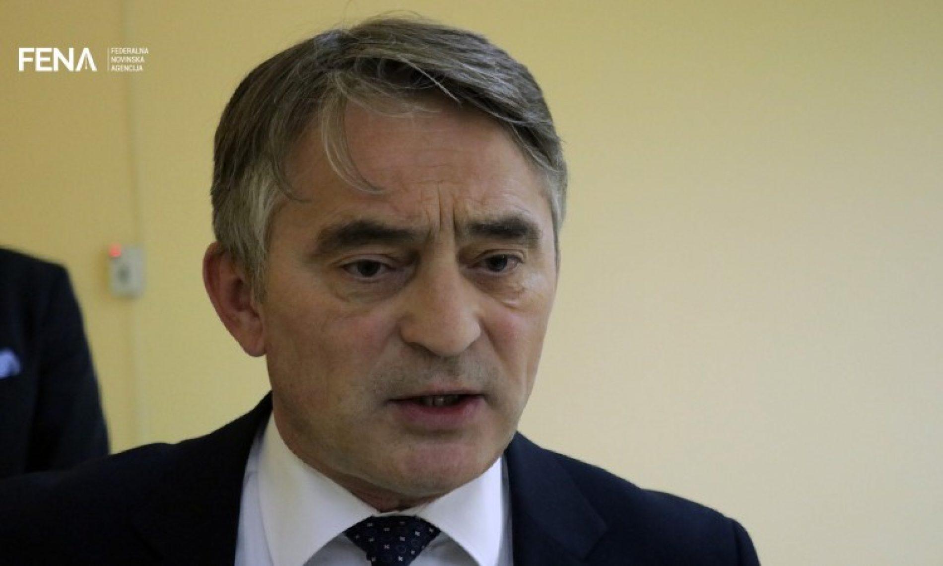 Komšić: Niko neće svoje gubitke kompenzirati na Bosni i Hercegovini
