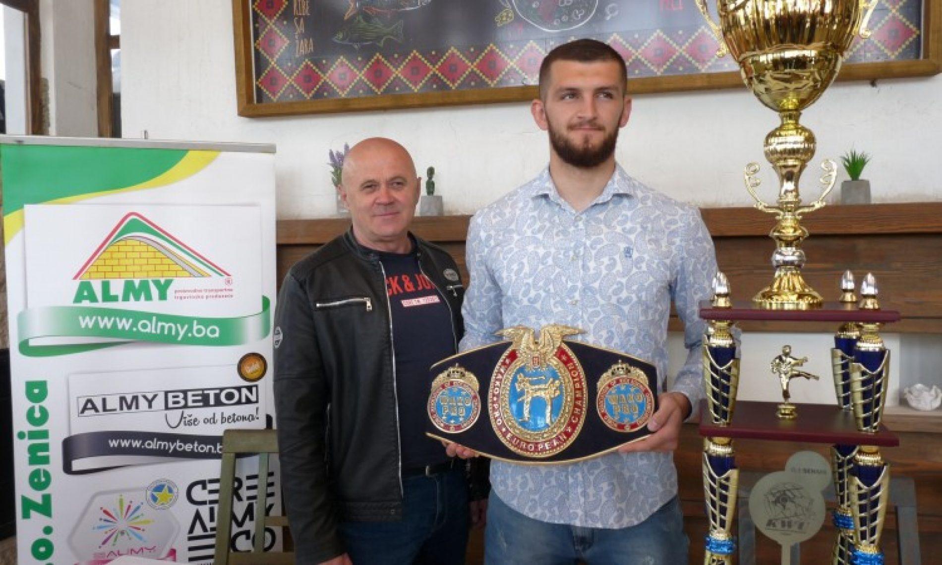 Krnjić: Nakon naslova profesionalnog prvaka Evrope, želim i svjetski naslov