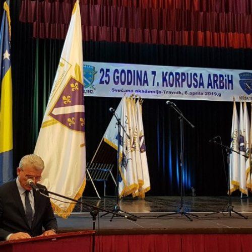 Obilježena 25. godišnjica formiranja 7. Korpusa Armije RBiH