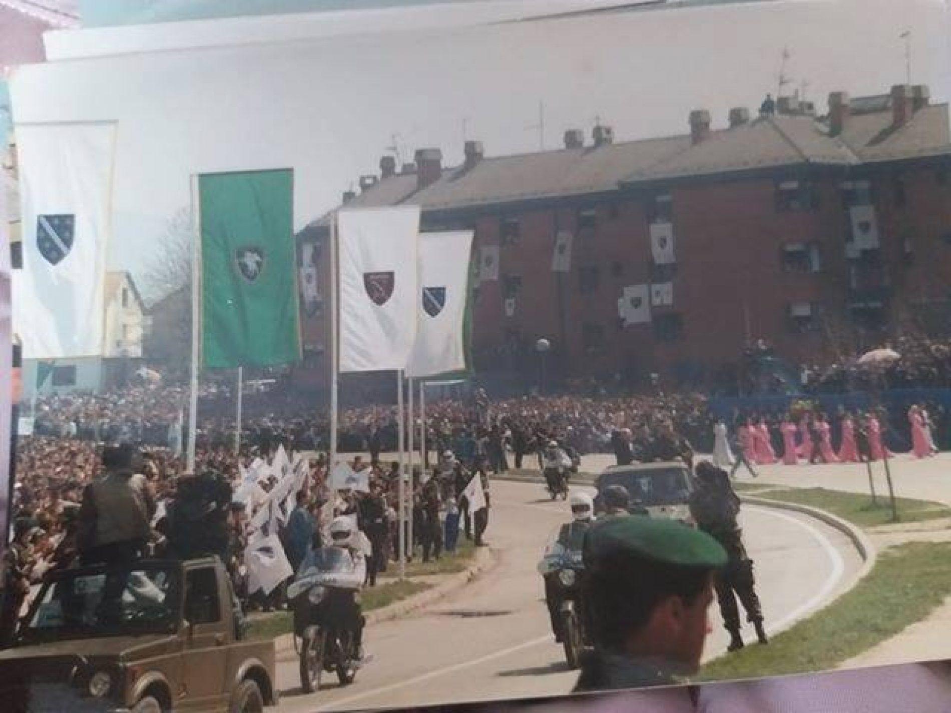 Veličanstvena parada bosanske armije (VIDEO)