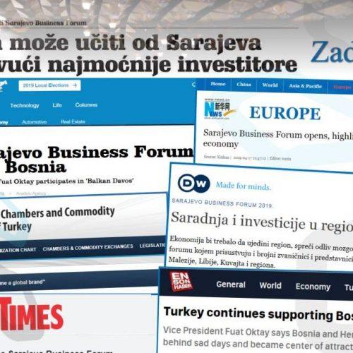 Odjeci SBF-a: Hrvatska može učiti od Sarajeva kako privući najmoćnije investitore