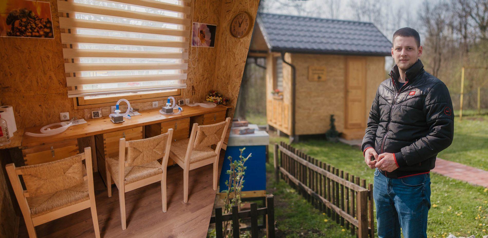 Prva api-komora u sjeveroistočnoj Bosni (Video)