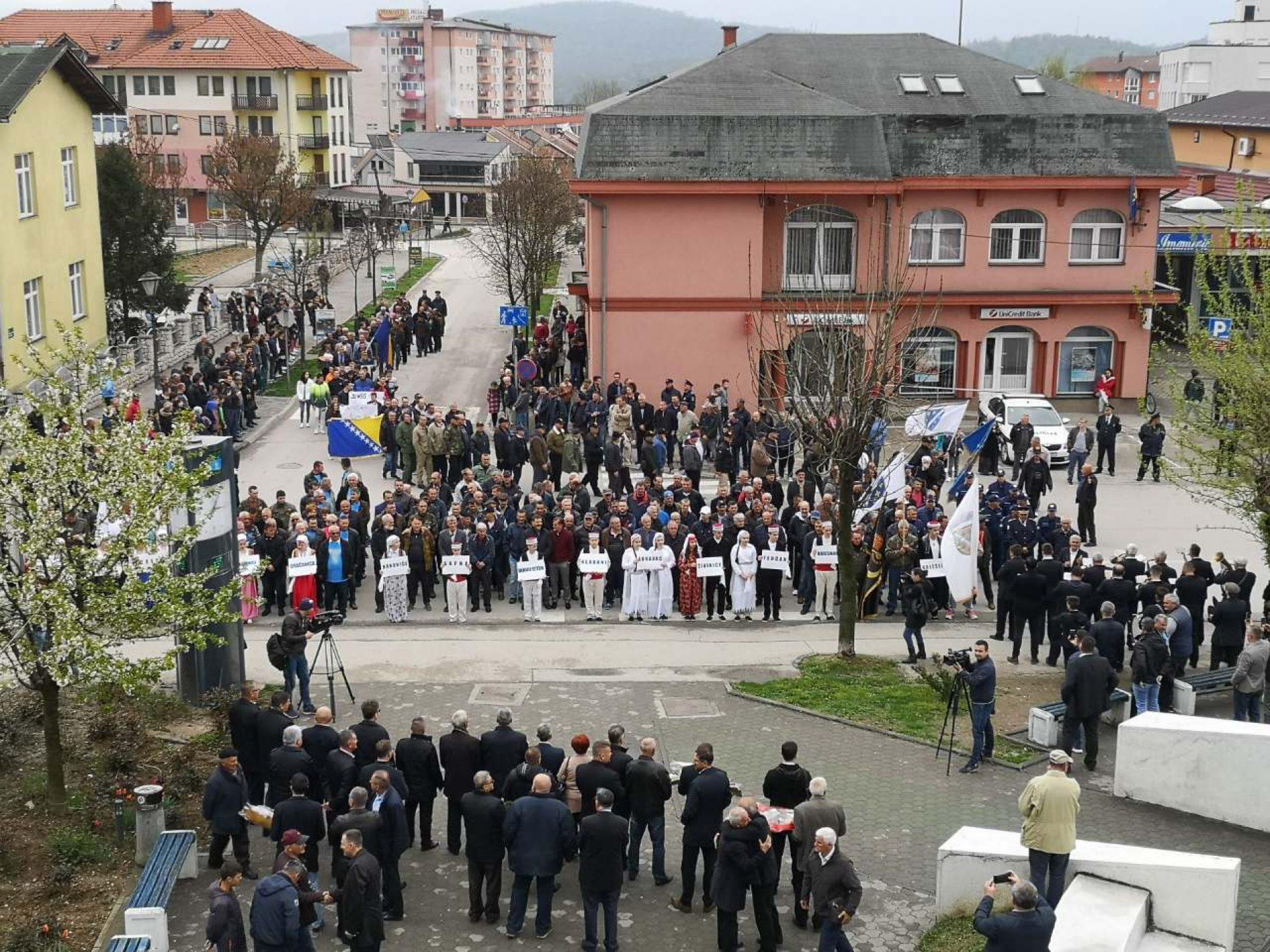 Kalesija: Obilježena 27. godišnjica formiranja Armije Republike Bosne i Hercegovine