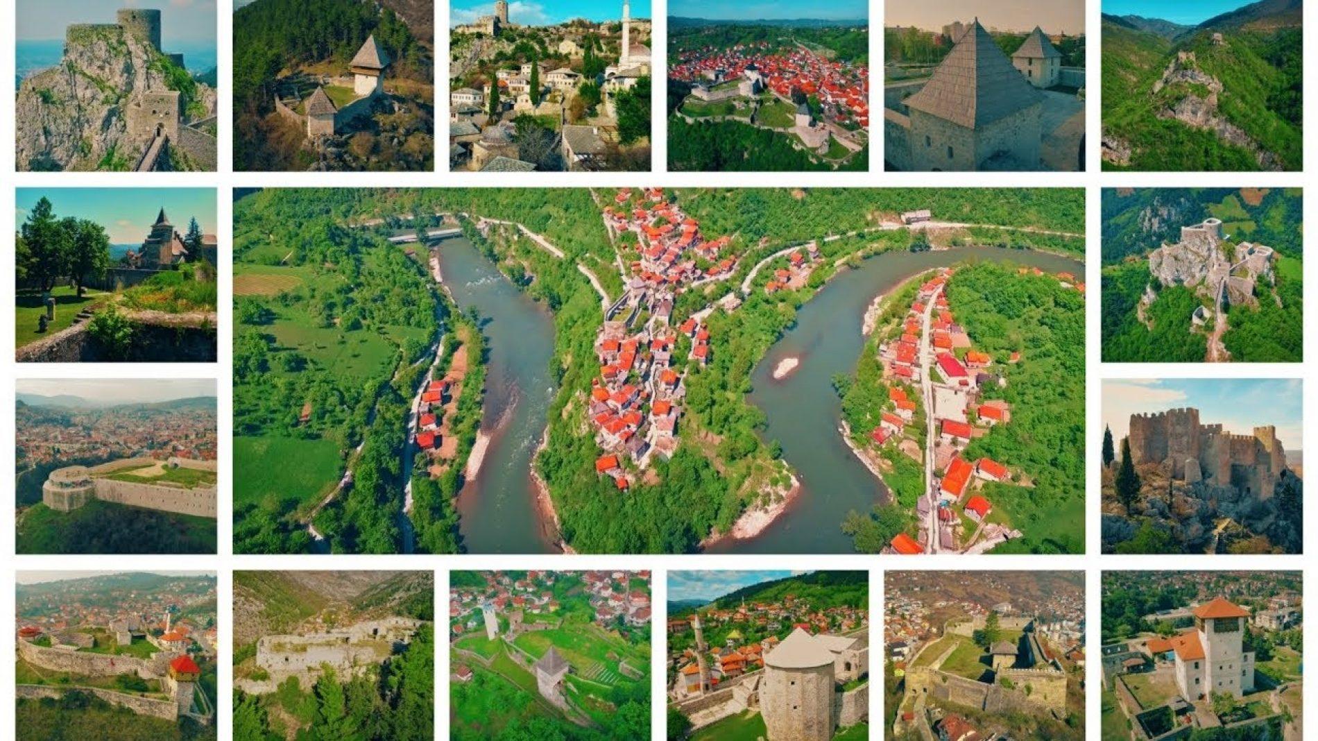 Najljepši Stari gradovi, srednjovjekovne utvrde i dvorci u Bosni (VIDEO)