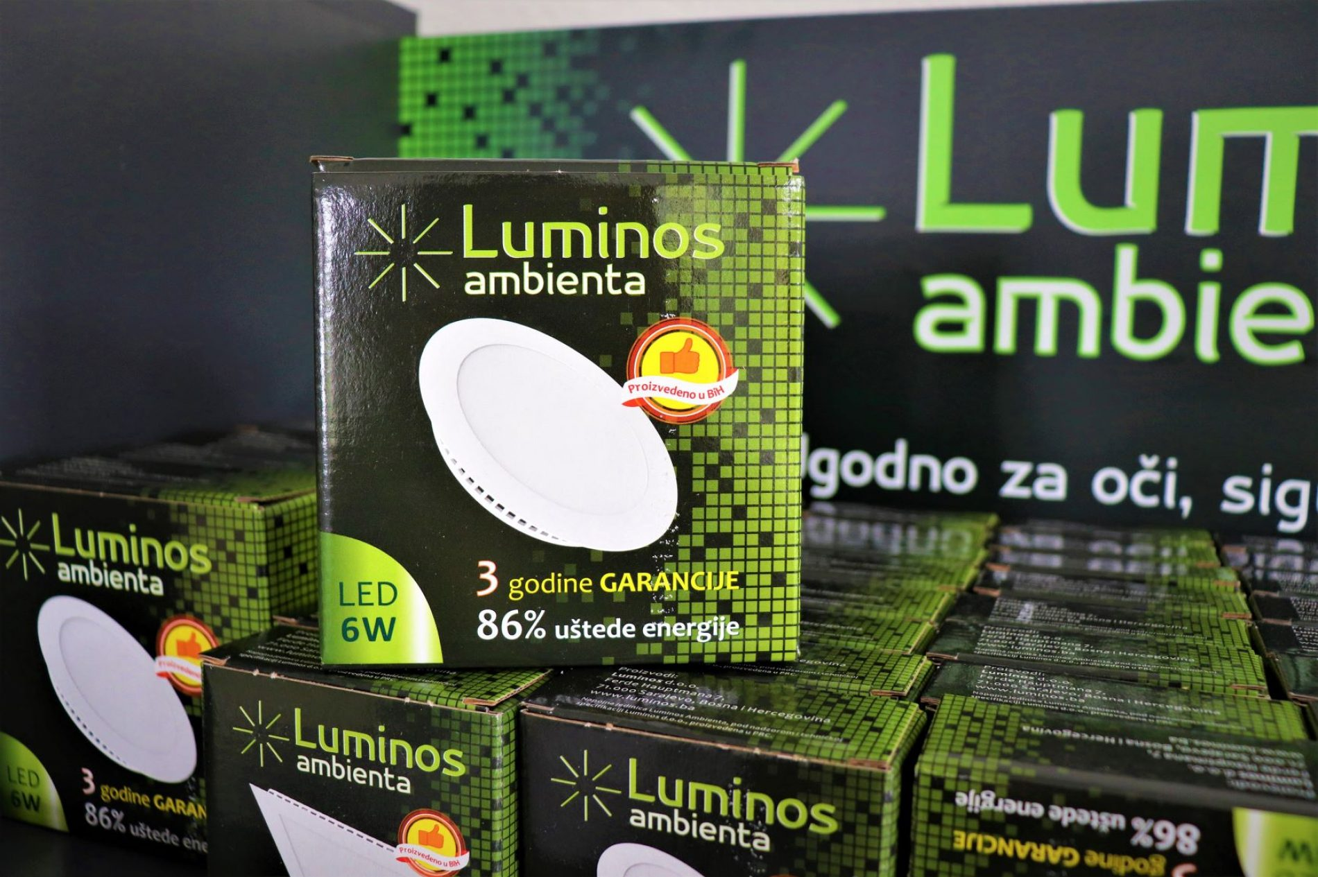 Domaći Luminos pokrenuo prvi pogon za proizvodnju LED panela u našoj zemlji