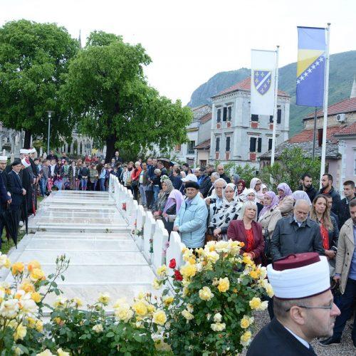 Dan pobjede nad fašizmom: U Mostaru odana počast poginulim borcima MUP-a i Armije RBiH