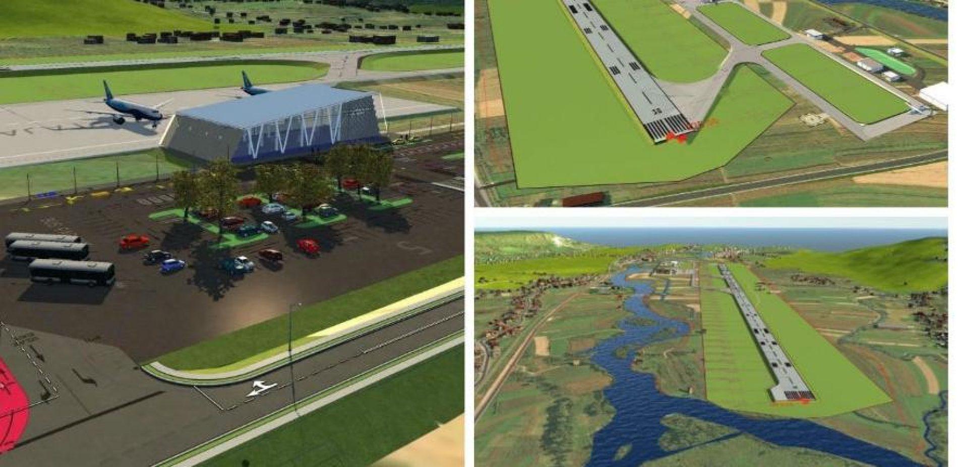 Uskoro gradnja testno -poletne staze na Aerodromu Bihać