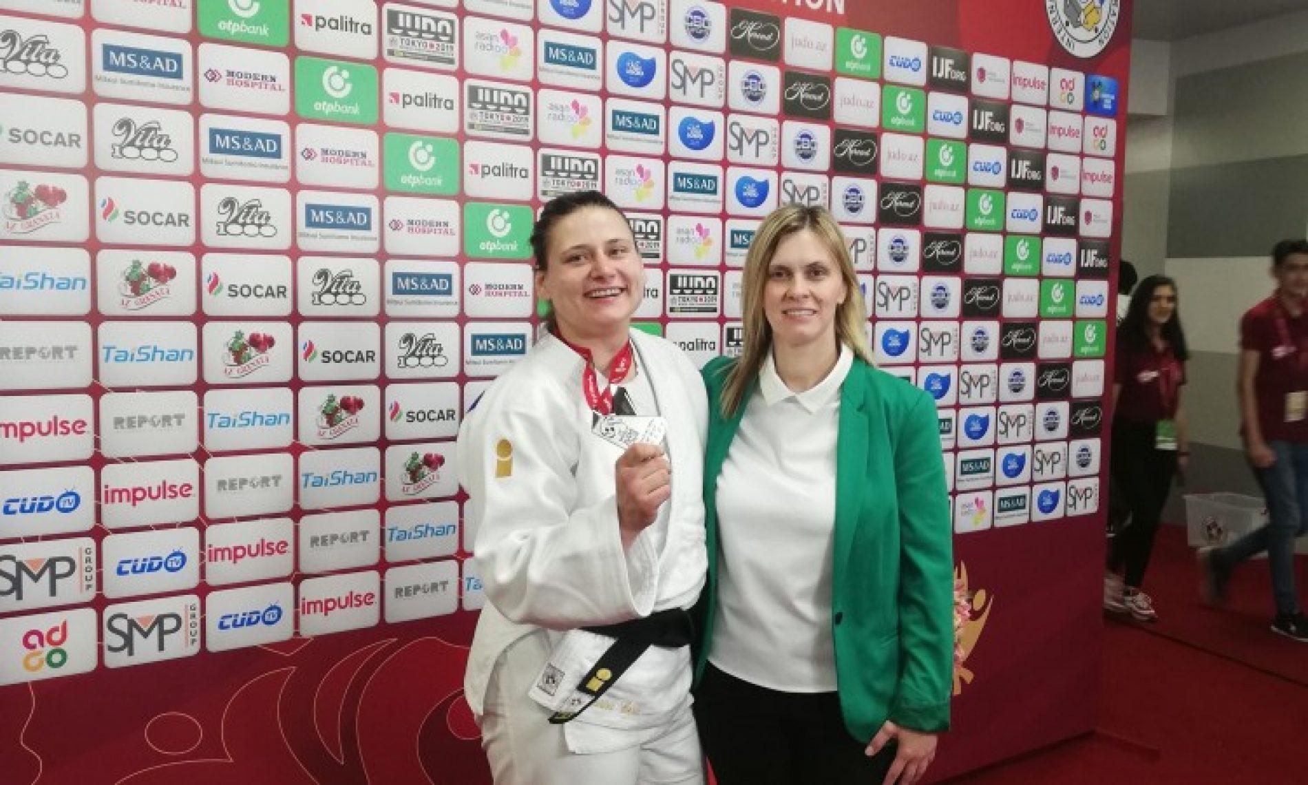 Novi uspjeh: Cerić osvojila srebro na Grand Slamu u Bakuu