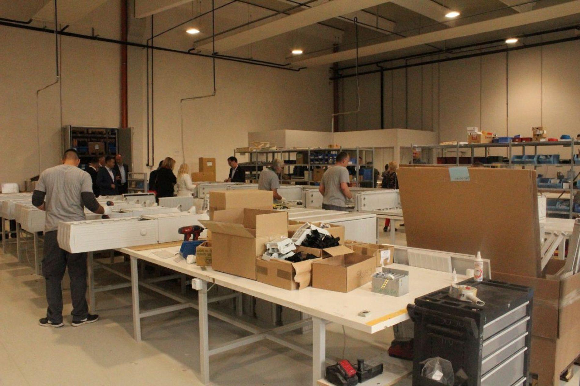 U Živinicama otvorena novoizgrađena fabrika Elsta Mosdorfer Bosnia