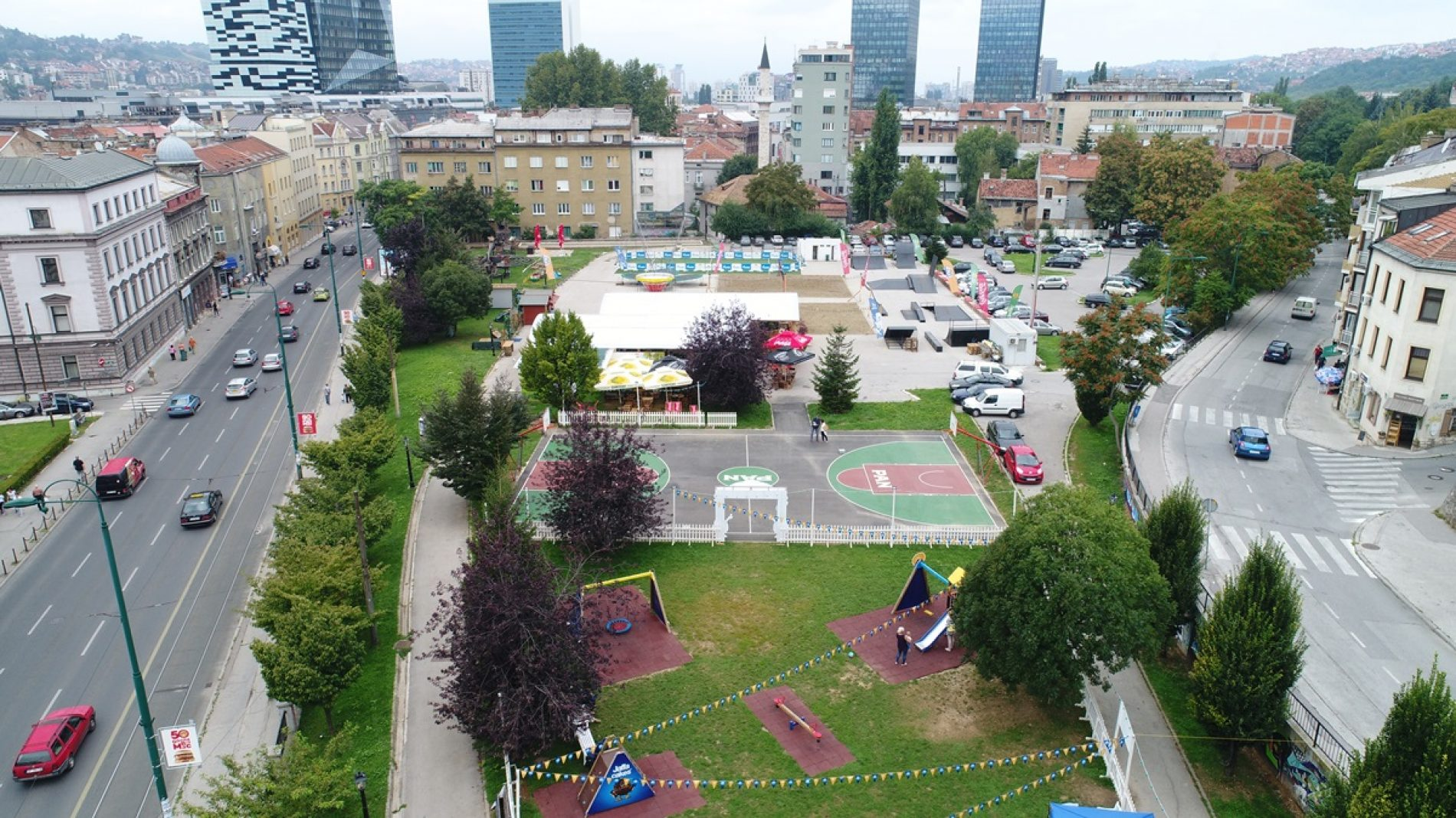 Park Hastahana od danas nosi ime Nijaza Durakovića