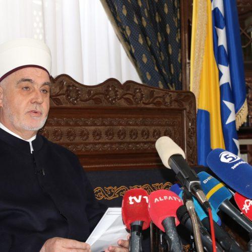 Ramazanska poruka reisa Kavazovića: Neka nam životni moto bude dobro koje s drugima dijelimo