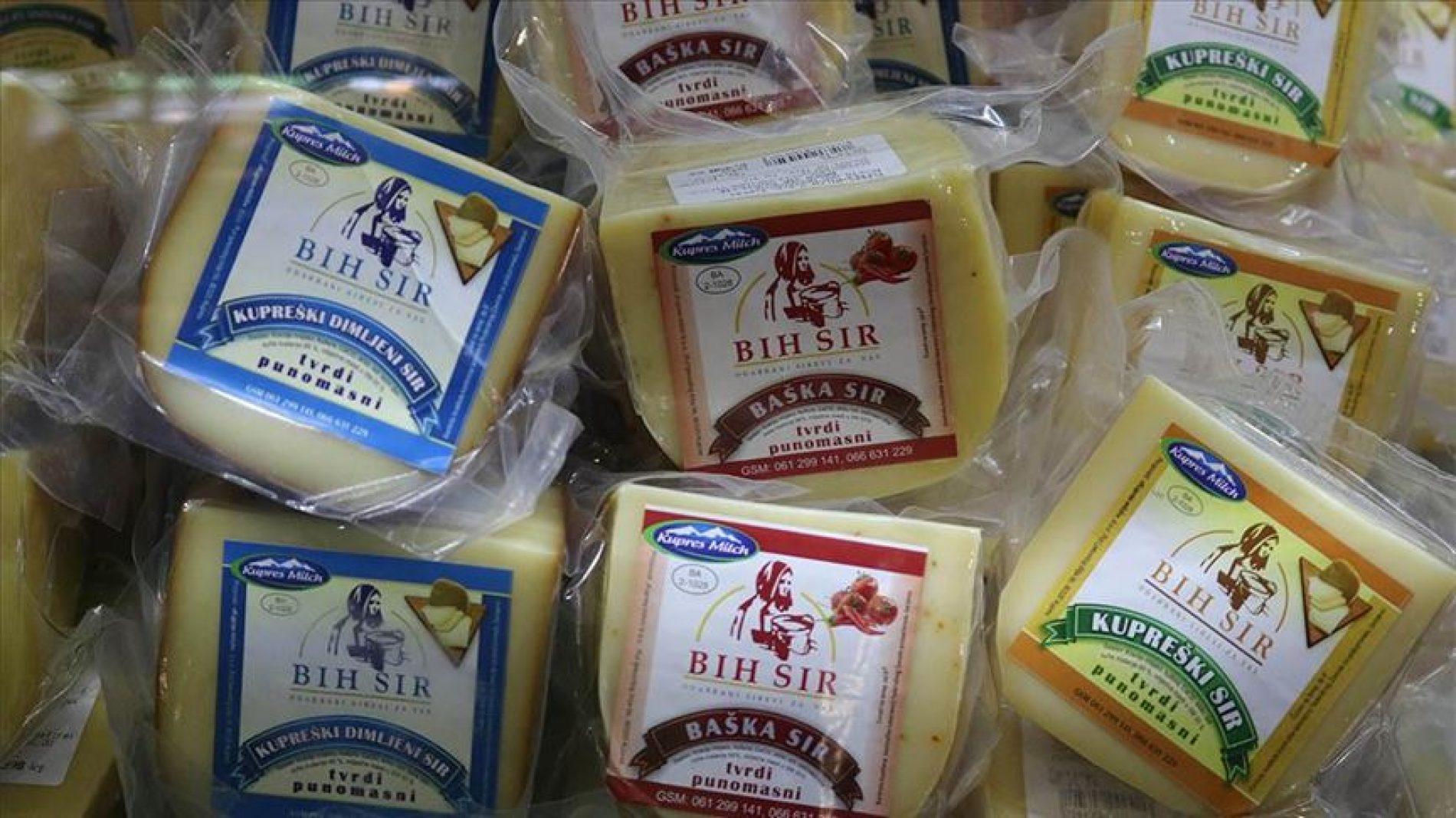Vrijedne ruke porodice Žilić: Kupreški sir pobrao medalje Novosadskog sajma
