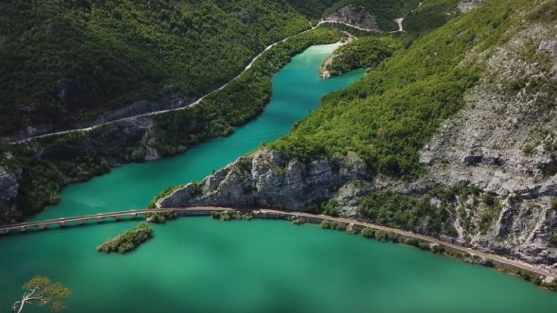 Bosanski krajolici: Zeleni kanjon Neretve  (VIDEO)