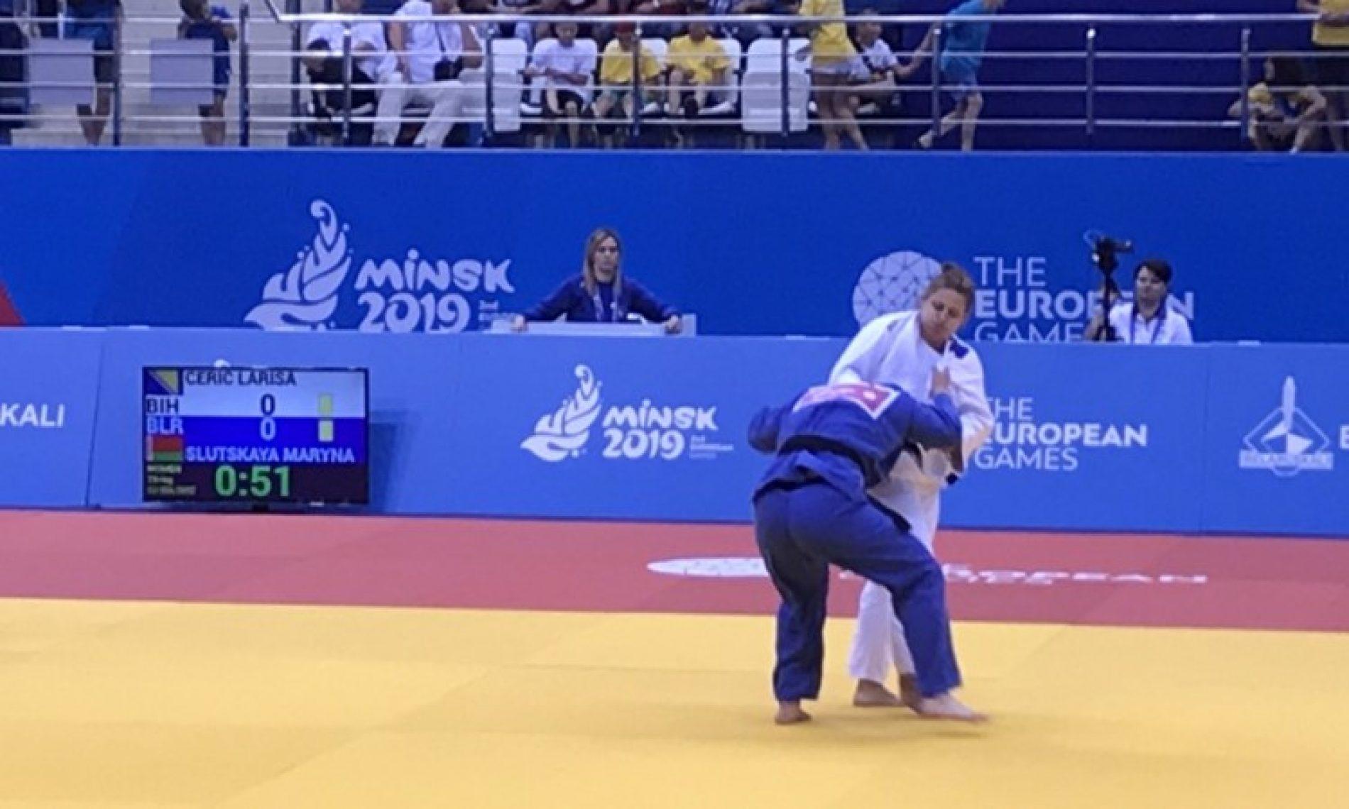Cerić osvojila srebro na Evropskim igrama u Minsku