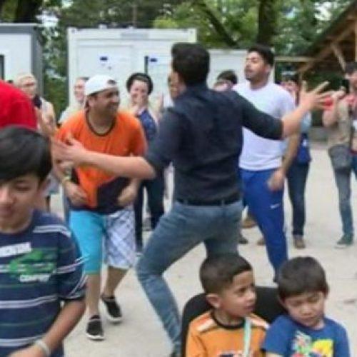 Bajram u prihvatnom centru Borići u Bihaću (Video)