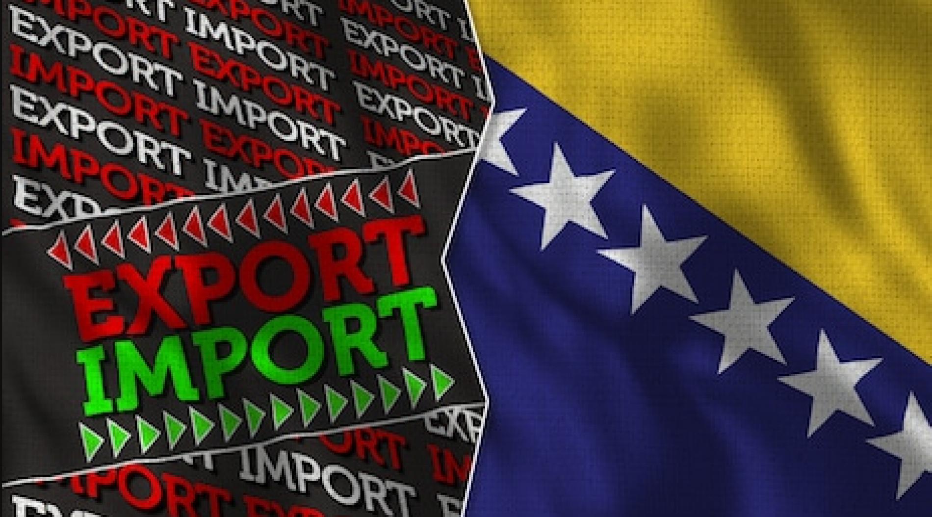 Bosanski izvoz povećan, ali i uvoz