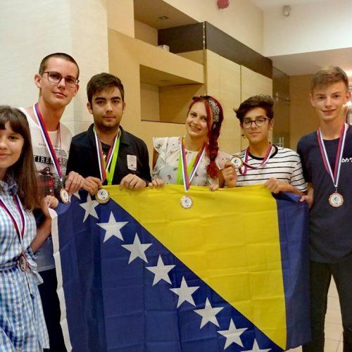 Naši učenici osvojili 6 medalja na Geografskoj olimpijadi Srednje, Južne i Jugoistočne Evrope