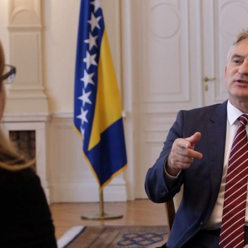 Komšić: NATO je psihološki potrebniji, to će odagnati strah od sukoba (VIDEO)