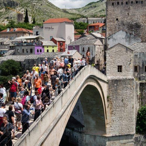 Mostar nikad u svojoj historiji nije zabilježio toliko posjetilaca