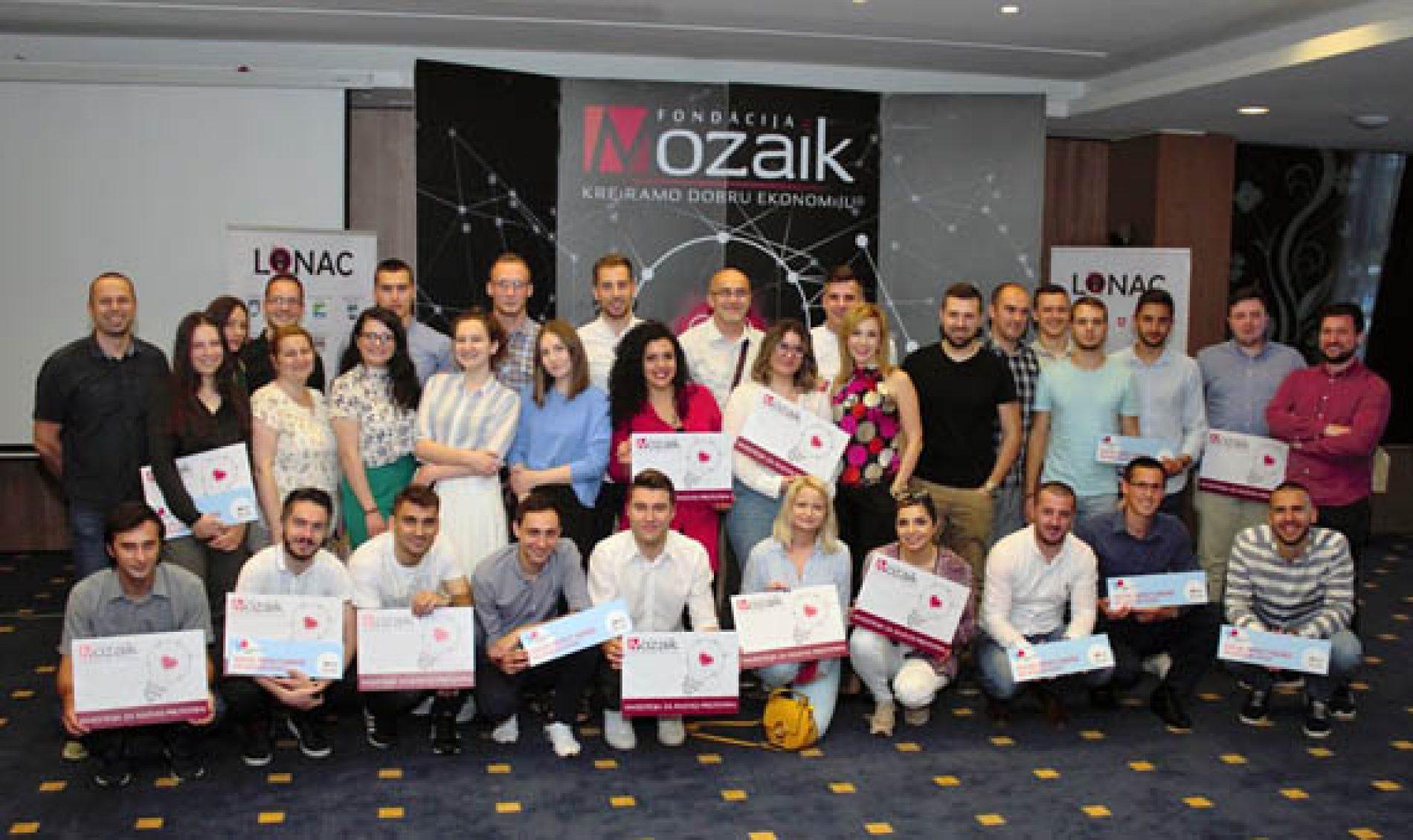 Nove investicije za projekte  17 timova mladih u Bosni i Hercegovini