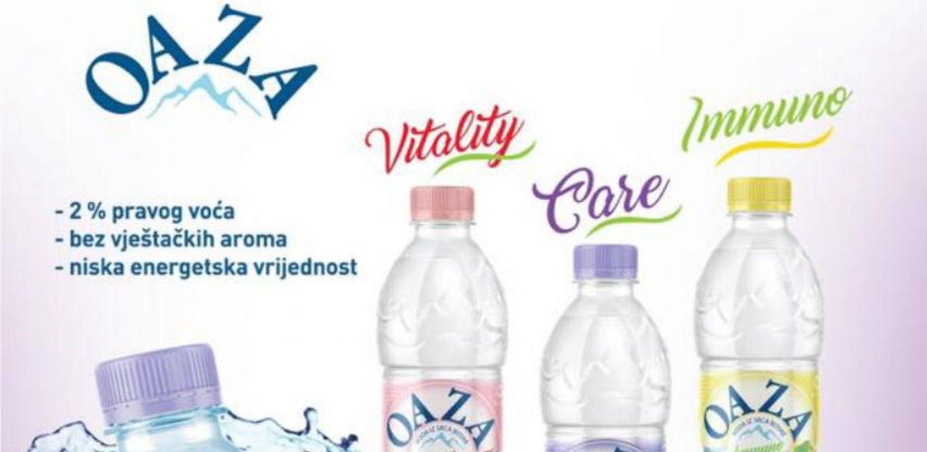 Od sutra Oaza funkcionalne vode i cijeđeni domaći čaj na bosanskohercegovačkom tržištu