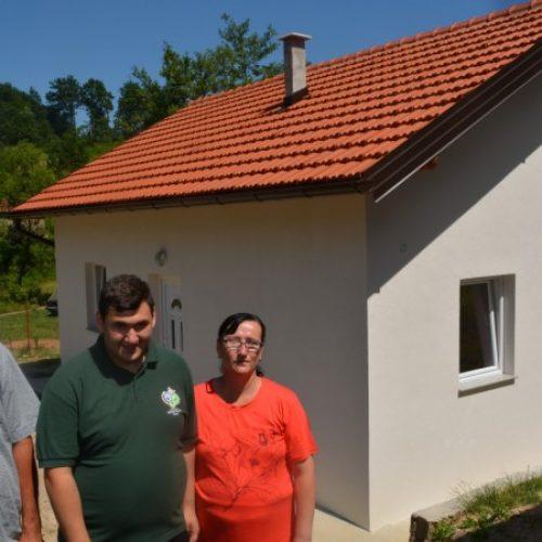 Nova kuća za porodicu Mehmedbegović koja je živjela u veoma lošim uslovima
