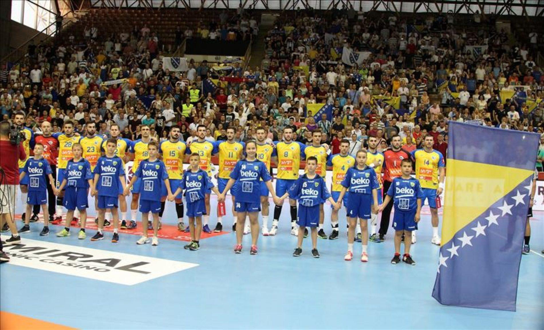 Bosna protiv Francuske, Norveške i Portugala na rukometnom Euru